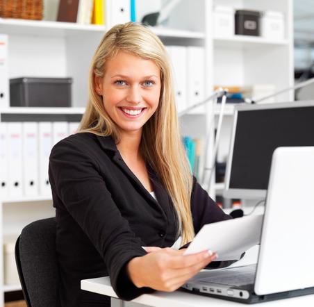 Фото женщины в офисе 67634 фотография