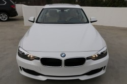 BMW 3 Series White Front