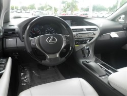 RX350 Grey Interior