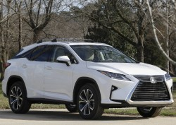 The 2016 Lexus RX lease deal with upgraded wheels