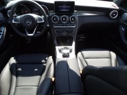 Mercedes C300 Black interior