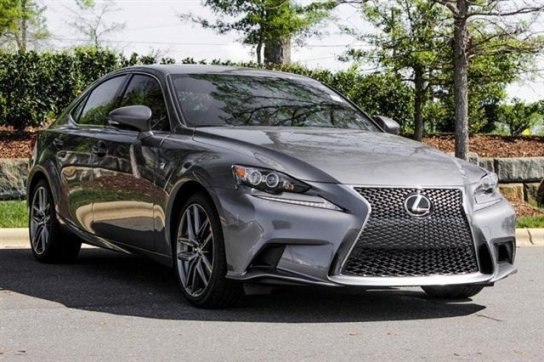 Lexus IS 250 F Sport Gray