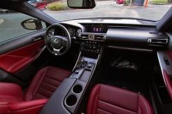 Lexus IS 250 Red interior