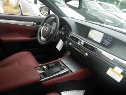 Lexus GS 350 Red interior
