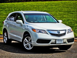 2015 Acura RDX white Lease deal