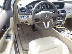 C250 Beige interior