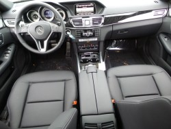 E 350 Black interior lease special