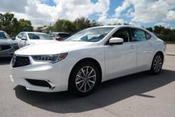 Acura TLX white