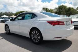 TLX white rear