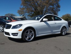 Mercedes Benz C250 Coupe White
