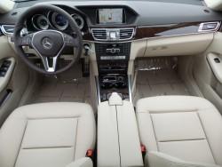 E 350 Beige interior
