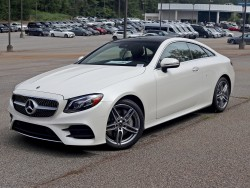 E400 Coupe White