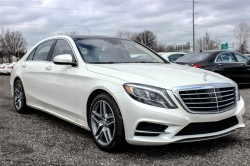 S550 White Lease deal