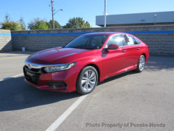 Accord LX red