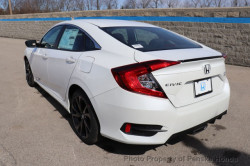 Civic SPort White rear
